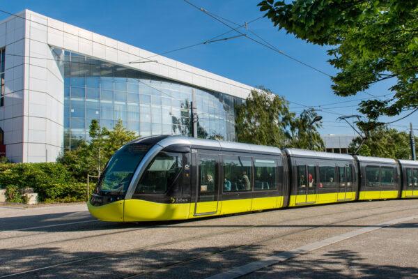 Tramway, Brest © Office de tourisme de Brest métropole